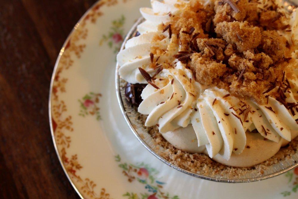 Two Wild Seeds Peanut Butter Pie