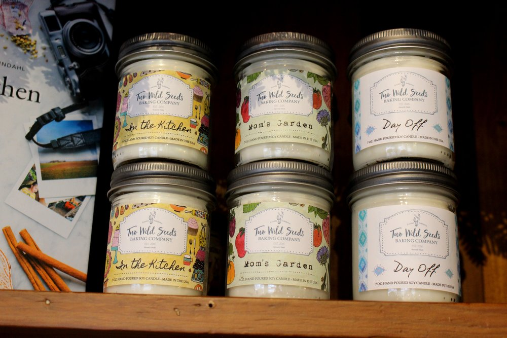 Two Wild Seeds Candles