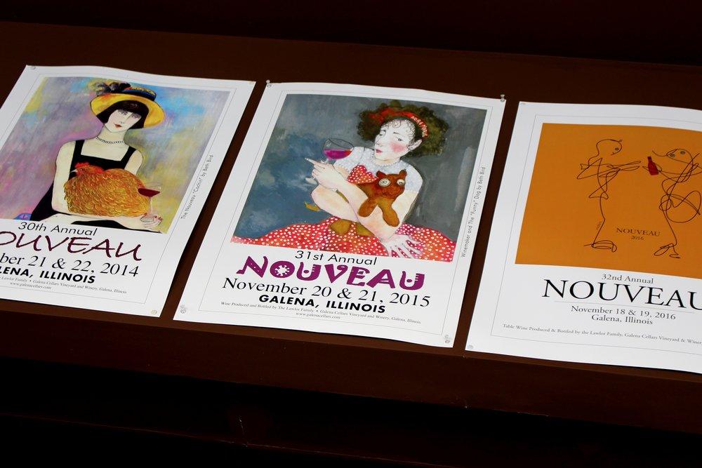 Galena Cellars Nouveau Posters
