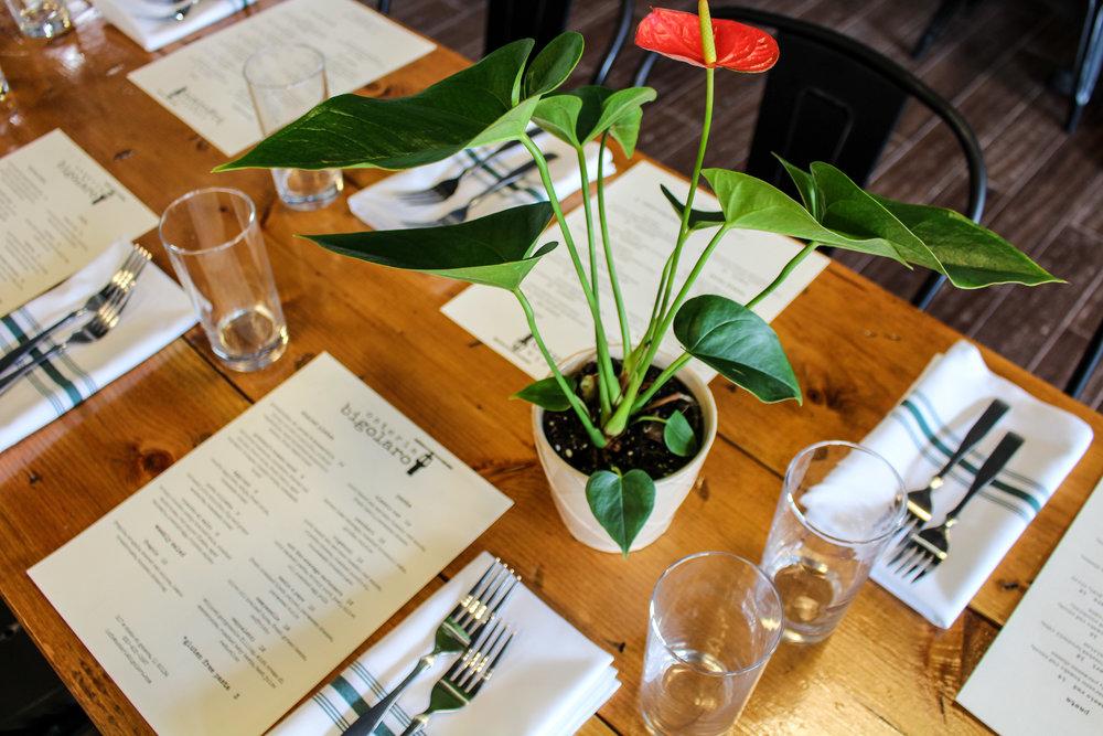Osteria Bigolaro Communal Table