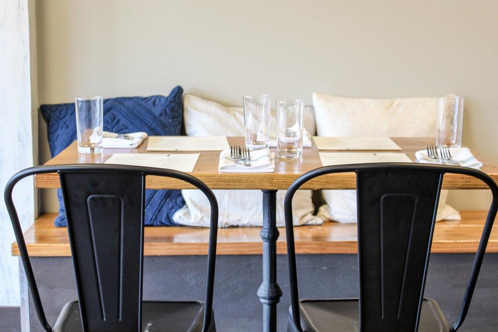 Osteria Bigolaro Seating 2