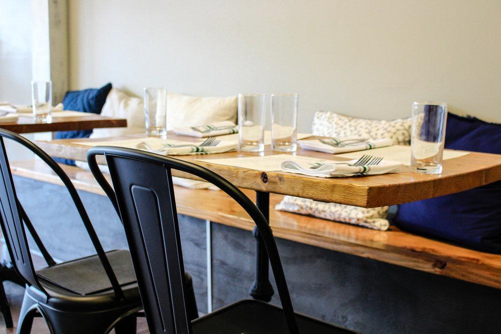 Osteria Bigolaro Seating 3