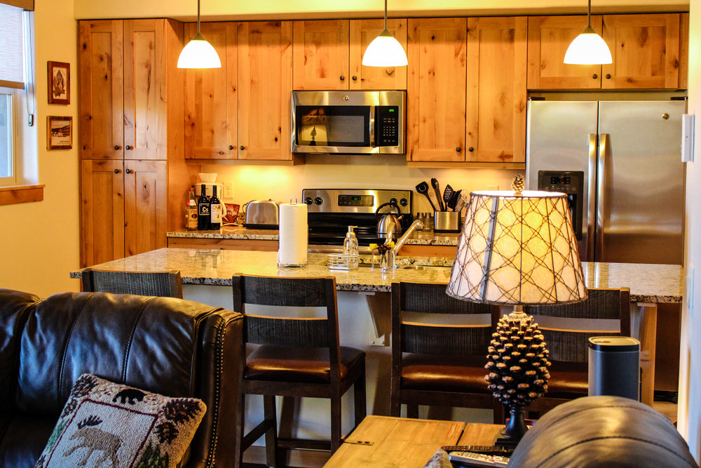 Trailhead Lodges Kitchen