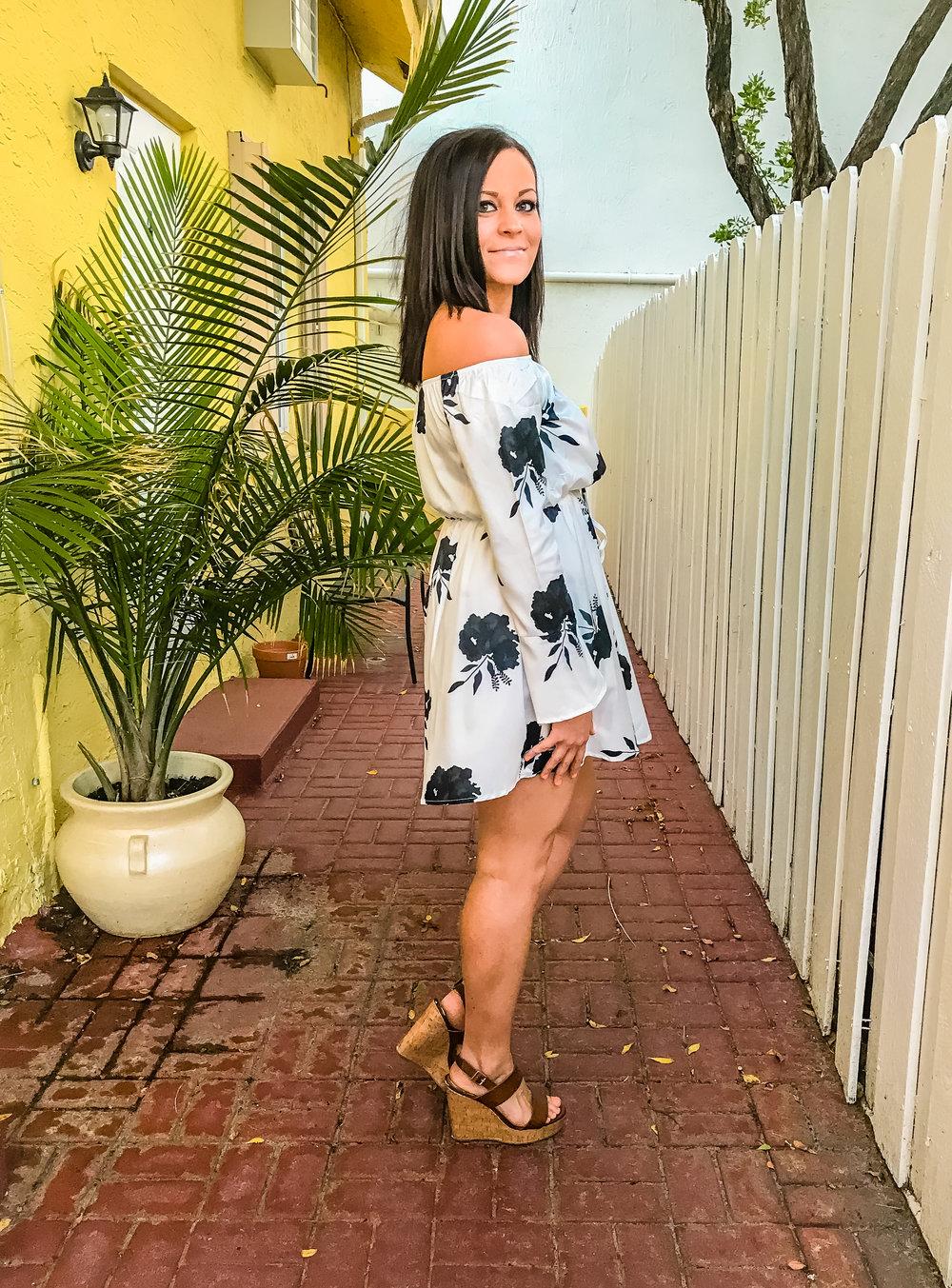 LSS WHITE DRESS