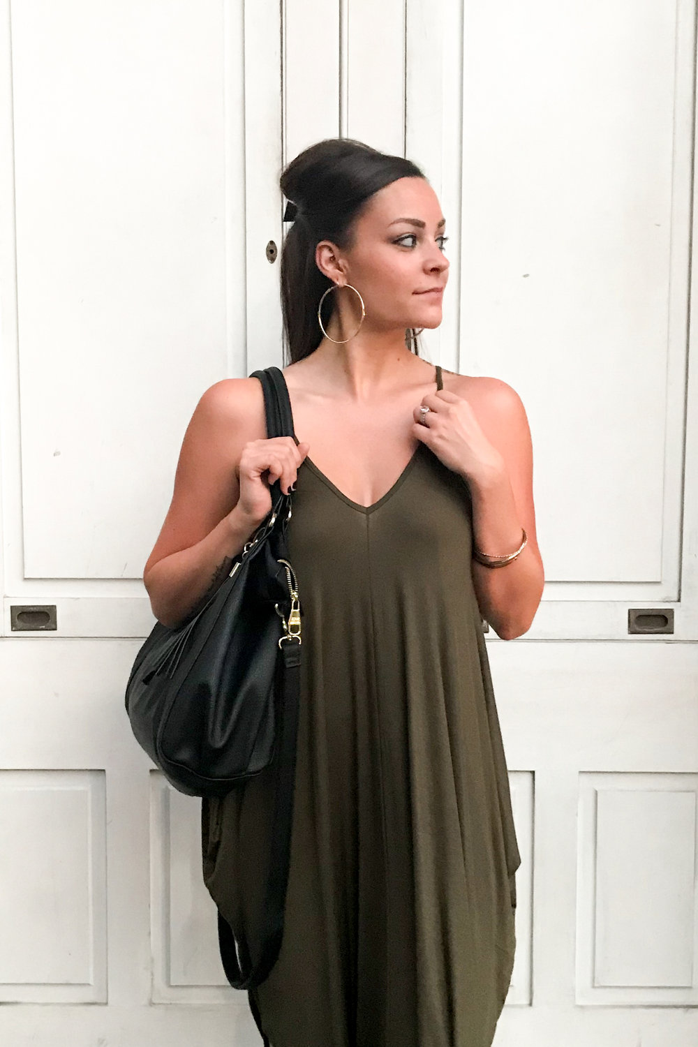 LSS New Orleans Olive Dress