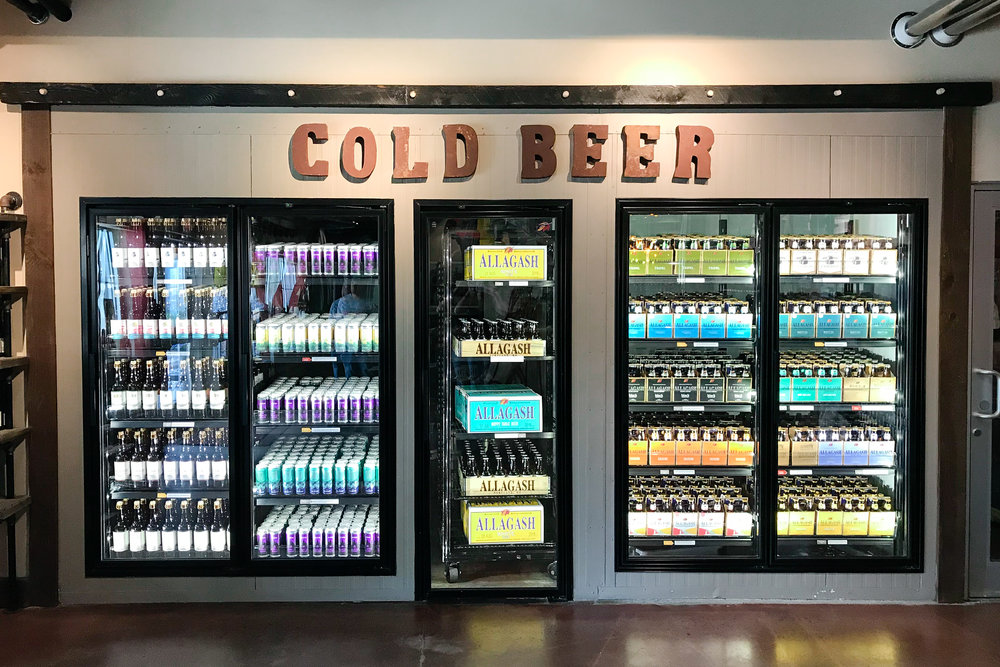 LSS Allagash Cold Beer Section
