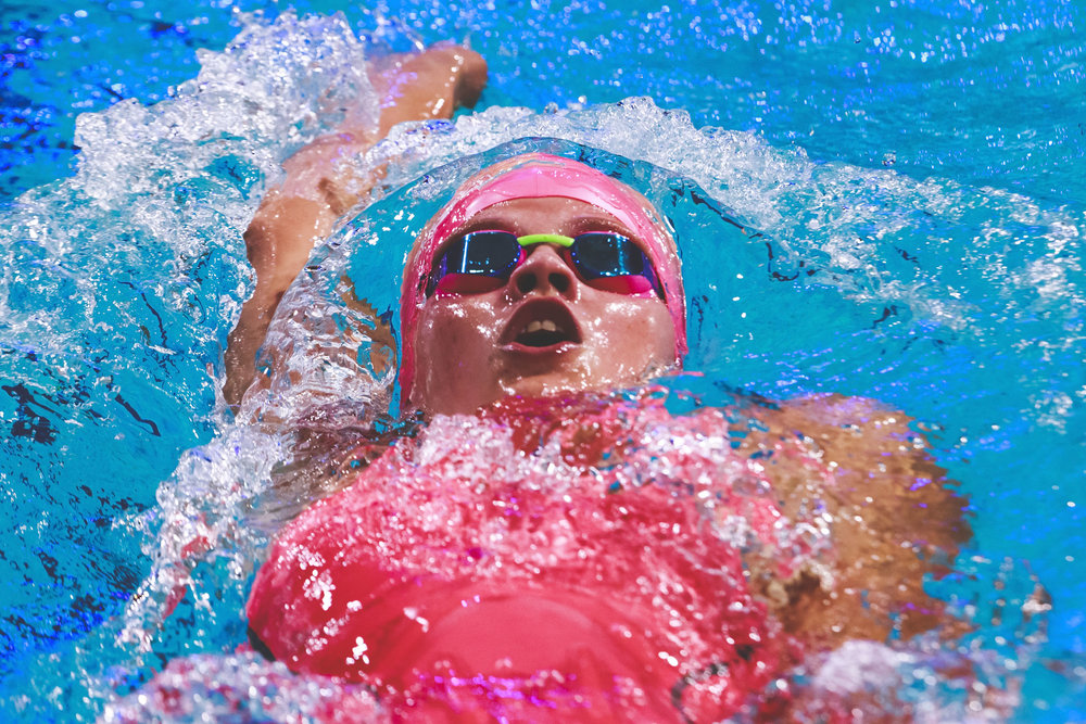 Lize Janna De Vries from The Netherlands competes durin the Women's 100m Individual Medley heats of the FINA/airweave Swimming World Cup Eindhoven 2017 at Pieter van den Hoogenband Swimming Stadium on August 12, 2017 in Eindhoven, Netherlands.