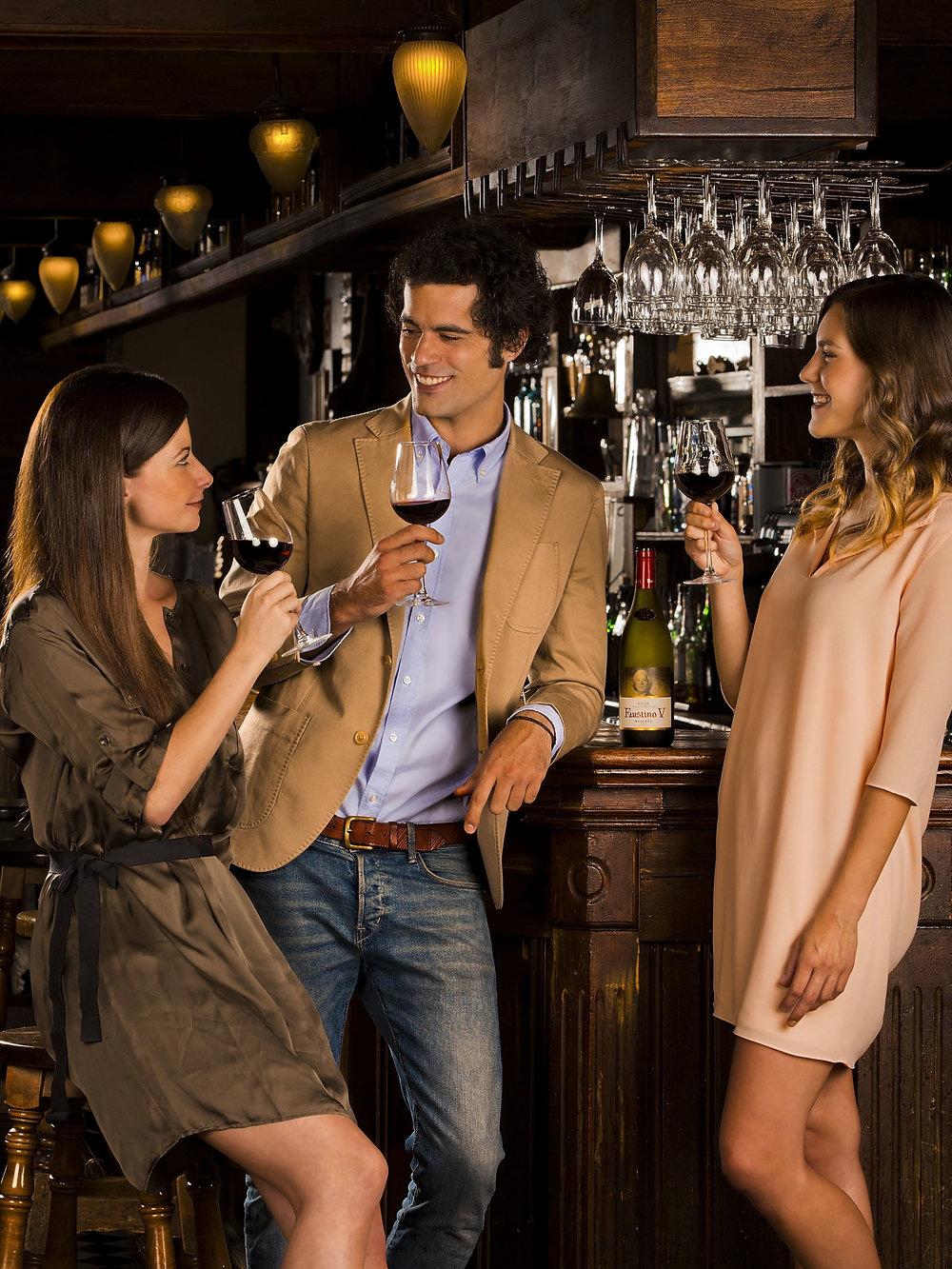 Faustino Wine advertising .   2013
