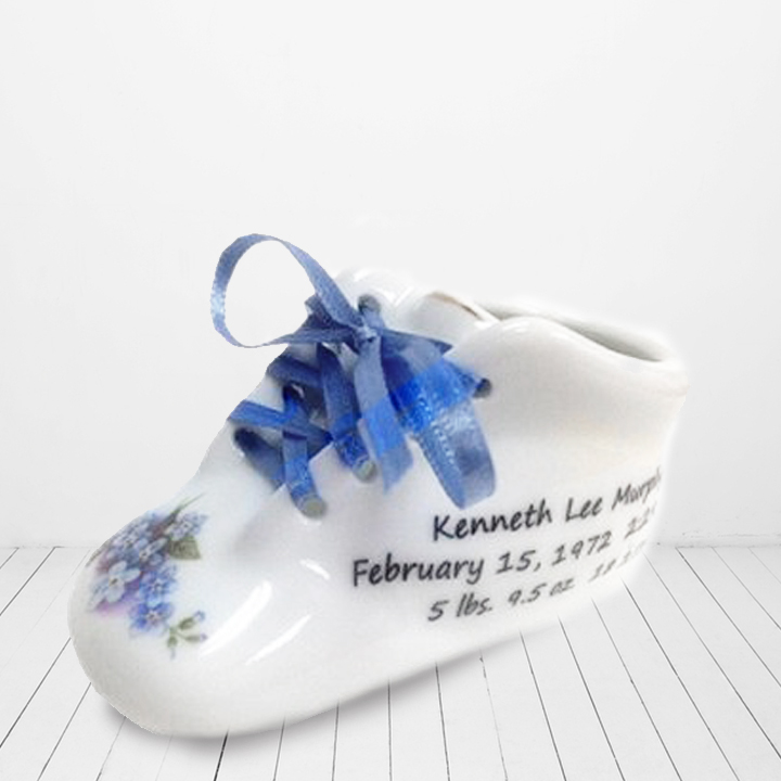 95936a329e96f Personalized Chestin Baby Shoe Keepsake — Personalized Baby Gifts