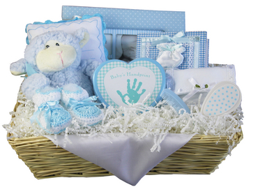Elegant Treasures Boy gift Basket
