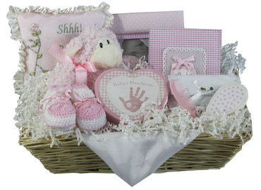 Elegant Treasures Girl Basket