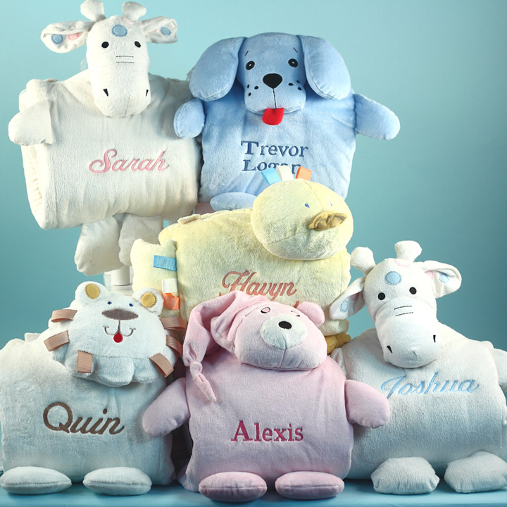 Personalized Blankie Buddies