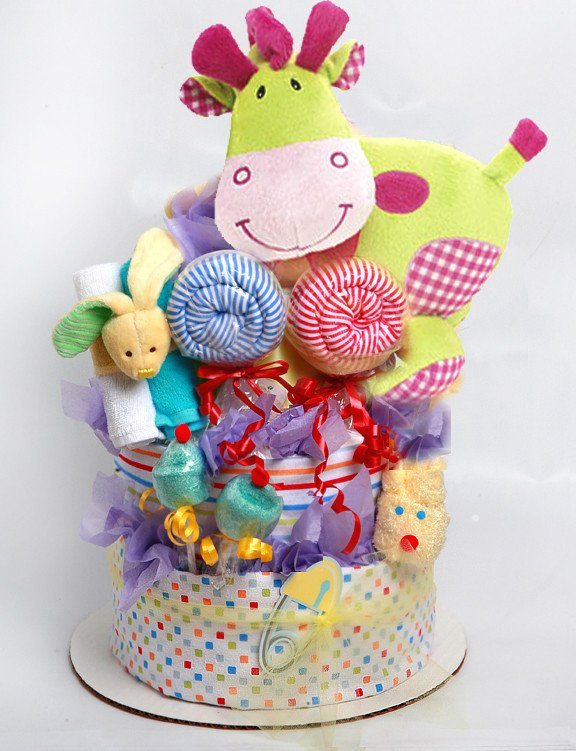 Circus diaper Cake for boy or gir