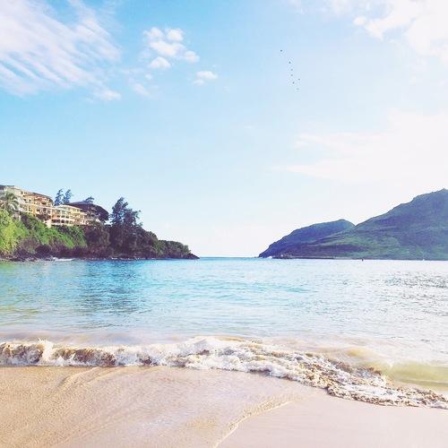 Quaint Kalapaki Beach