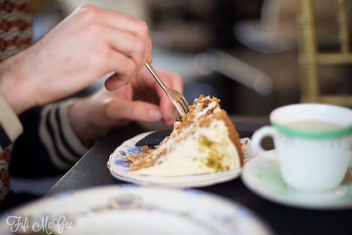 Brighton tea and cake review at Metrodeco