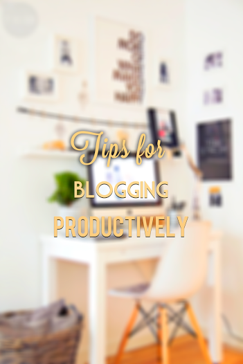 How to be a productive blogger ››