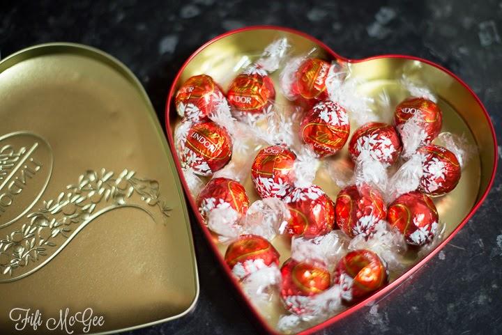 Lindt Lindor chocolates - Fifi McGee's favourites!