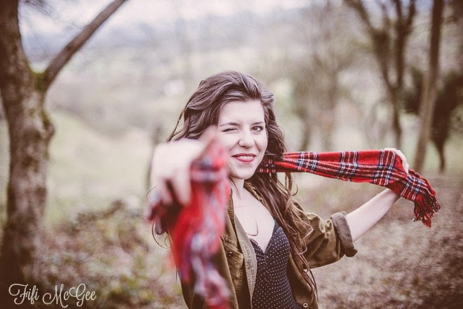 Country walks, hunters & tartan