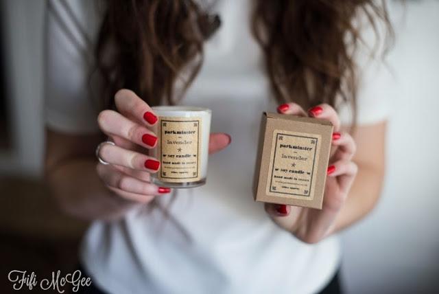 Fifi McGee / Parkminster candle gift idea