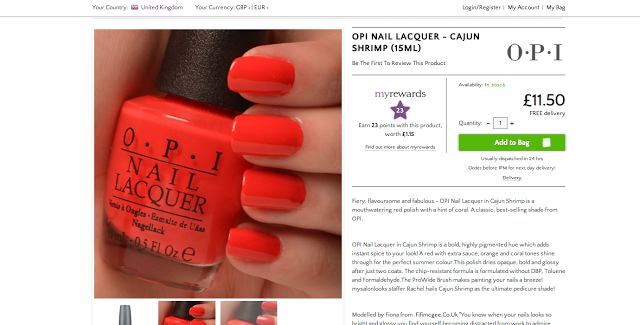 Fifi McGee: Hand modelling for OPI & My Salon Looks Brighton