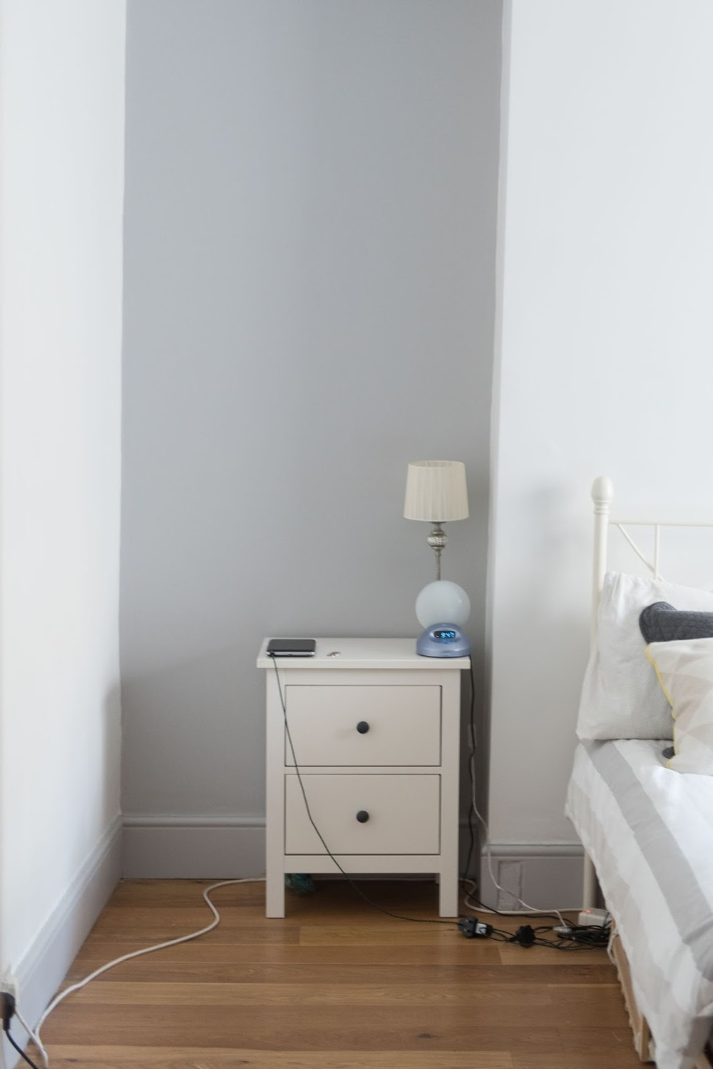 Bedroom mini makeover (before and after photos)