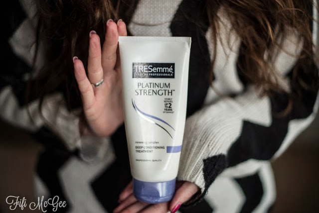 TRESemmé Platinum Strength Deep Conditioning Treatment review