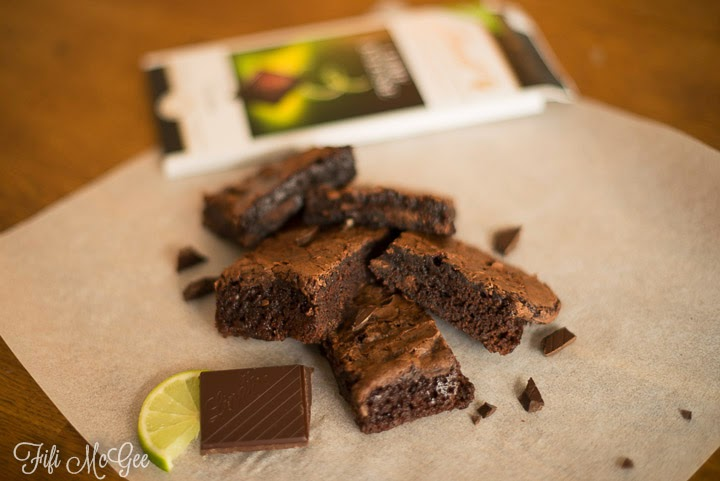 Delicious Lindt Lime Chocolate brownie recipe ››