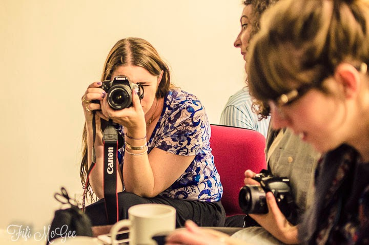 Brighton blogger event: Photography class