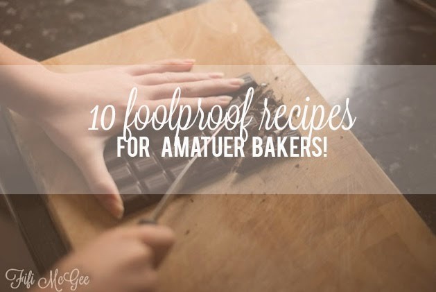 Crap at baking? Need some baking inspiration? Have no fear :)