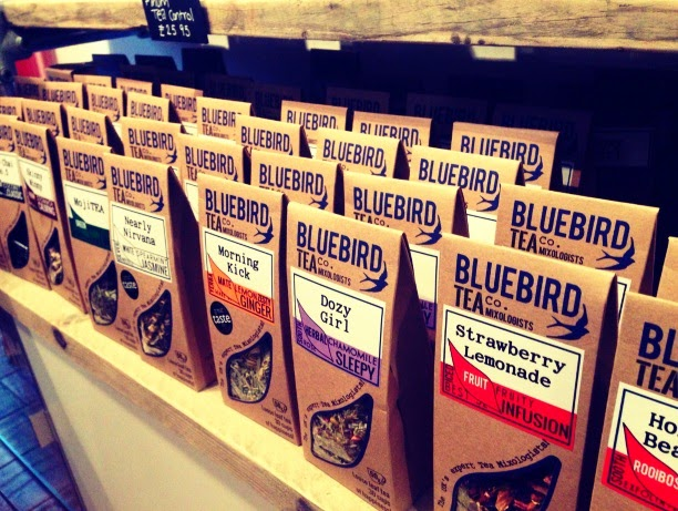 Bluebird Tea Co. Brighton bloggers event