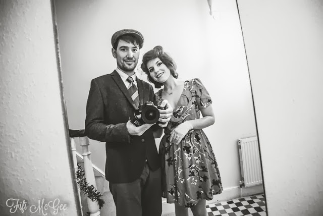 1940s, 1950s vintage fancy dress, Brighton, New Year's Eve
