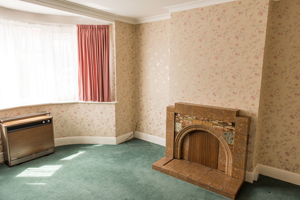 1930s home decoration living room before shots