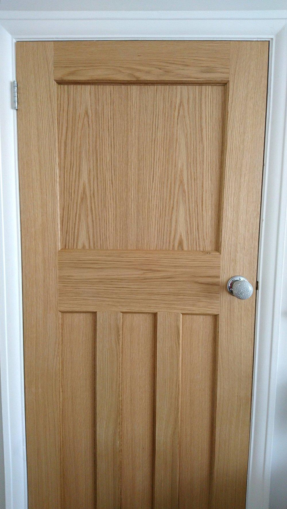 1930s home renovation interior doors