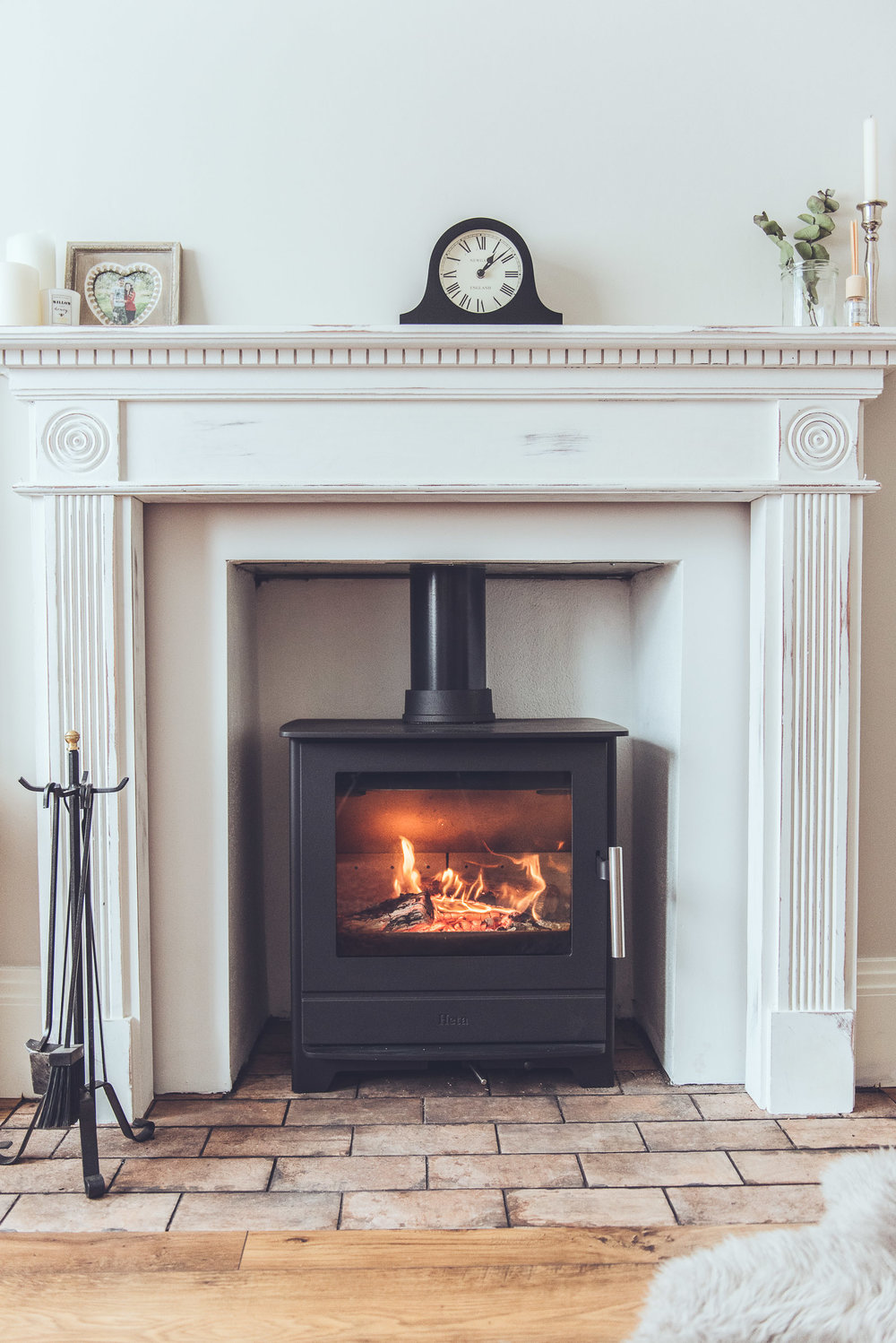 Heta Inspire wood burning stove, Local company in Brighton but also available  here , £999