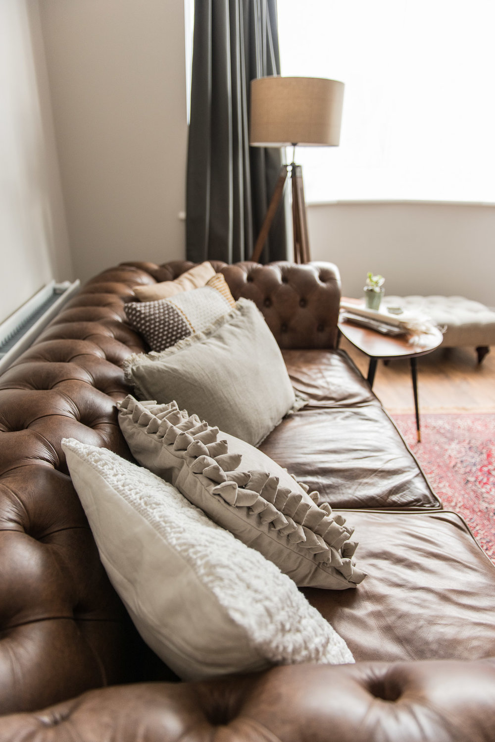 A stylist's guide to arranging your Modern Famhouse cushions