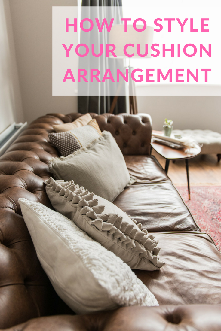 How to style your cushion arrangements