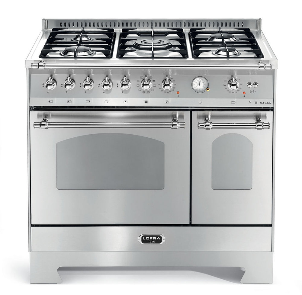 Lofra, Gas hob, Two ovens,  Here