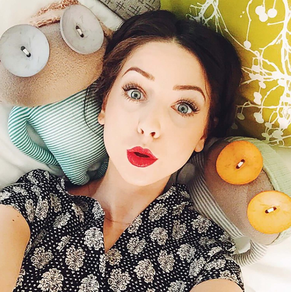 Zoella and her Ruby Ruth Dolls