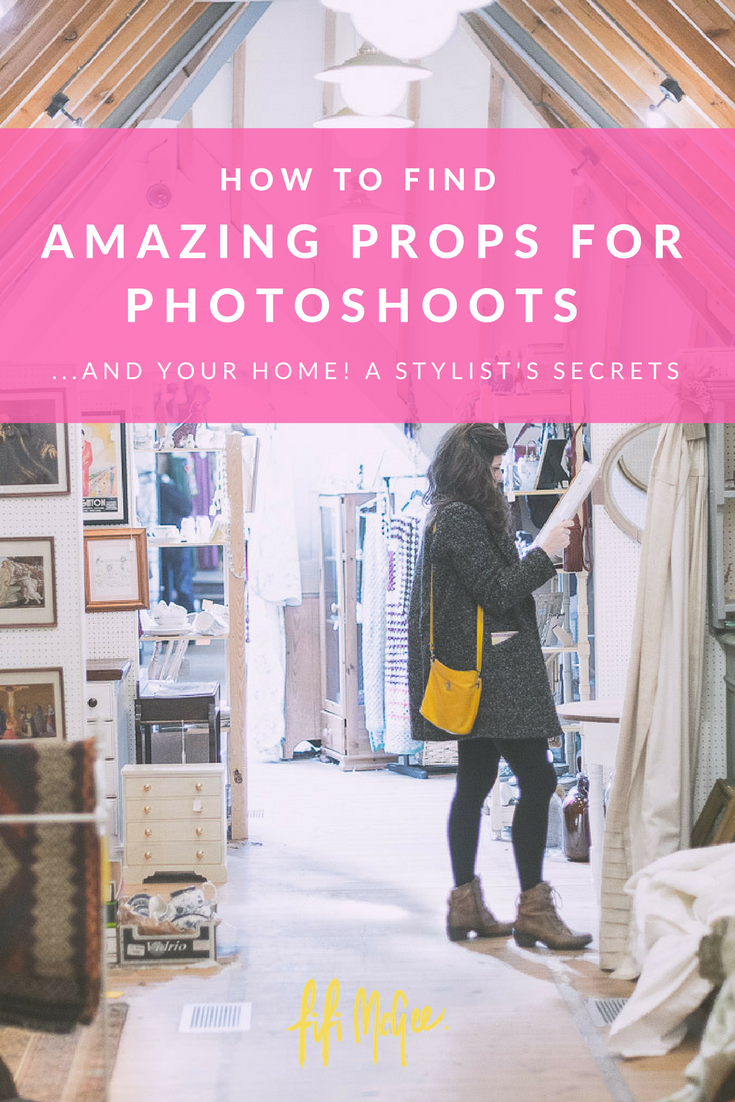 How to find amazing props for photoshoots and your home: A stylist's secrets