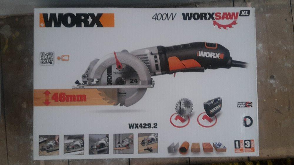 A Worx Circular Saw