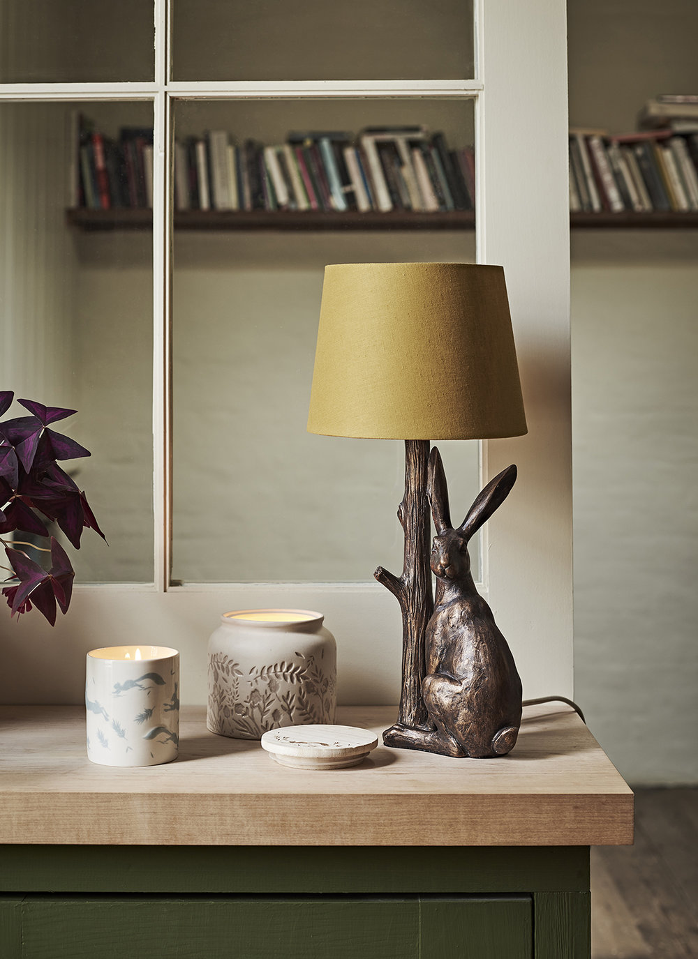 Lamp + Candles by sainsburys
