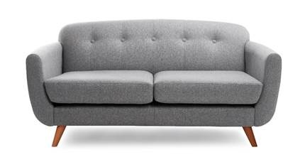 LAZE SOFA IN GREY: £399