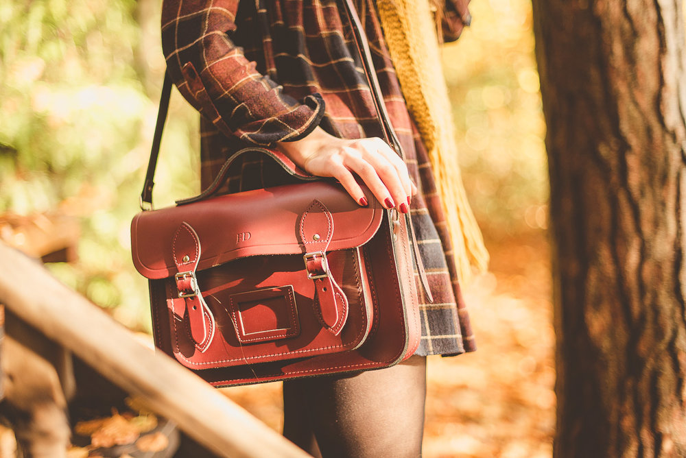 My pride and joy Cambridge Satchel  13 inch Batchel in Oxblood