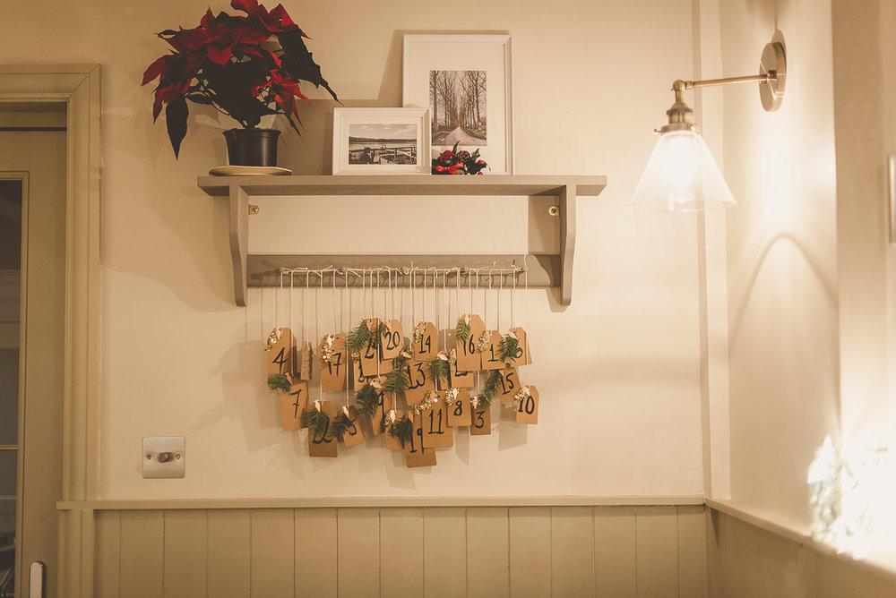 DIY Hand made Advent Calendar