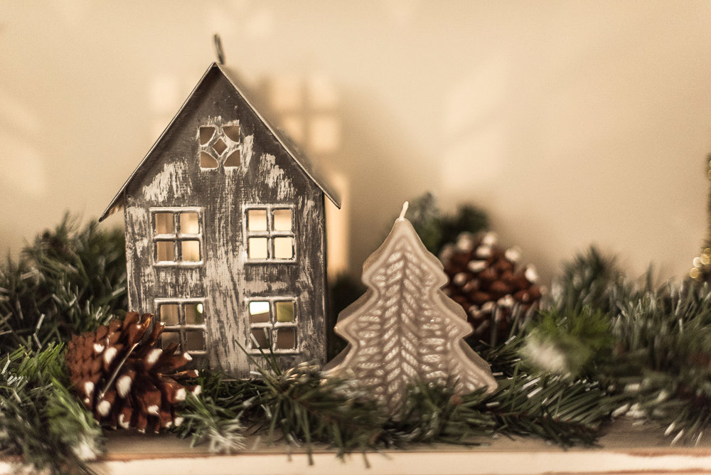 Scandinavian Christmas House decoration