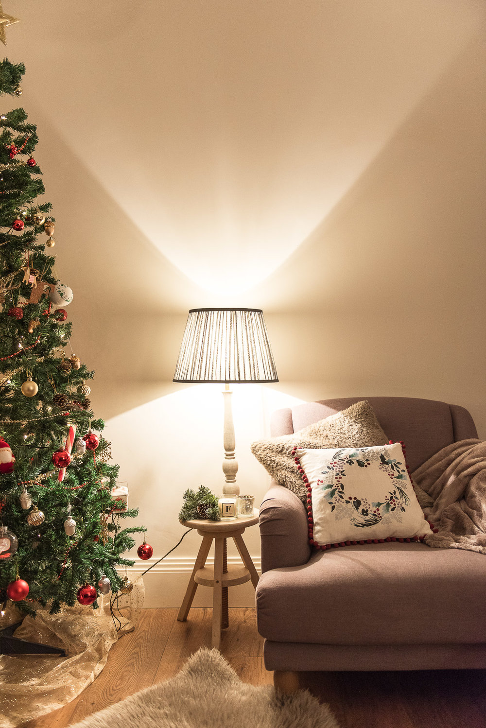 Christmas home tour decoration