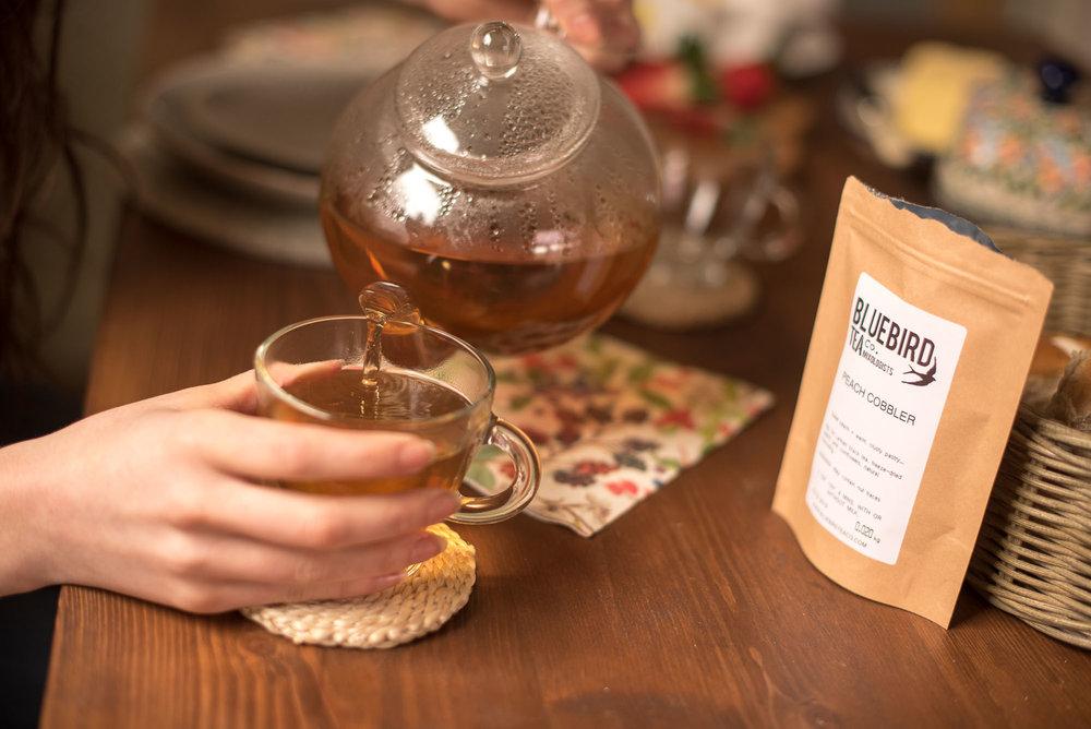 Bluebird Tea Co Peach Cobbler