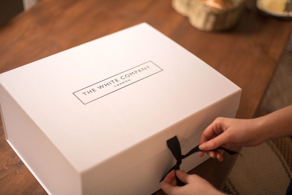 The White Company Gift Wrapping