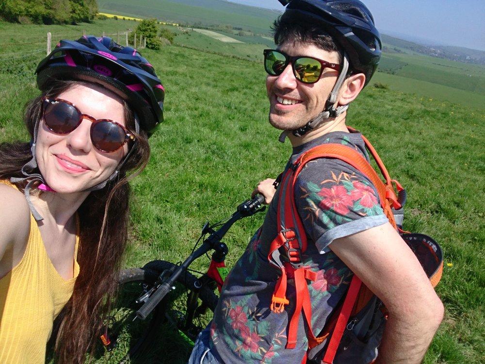 Interior blogger brighton bike ride