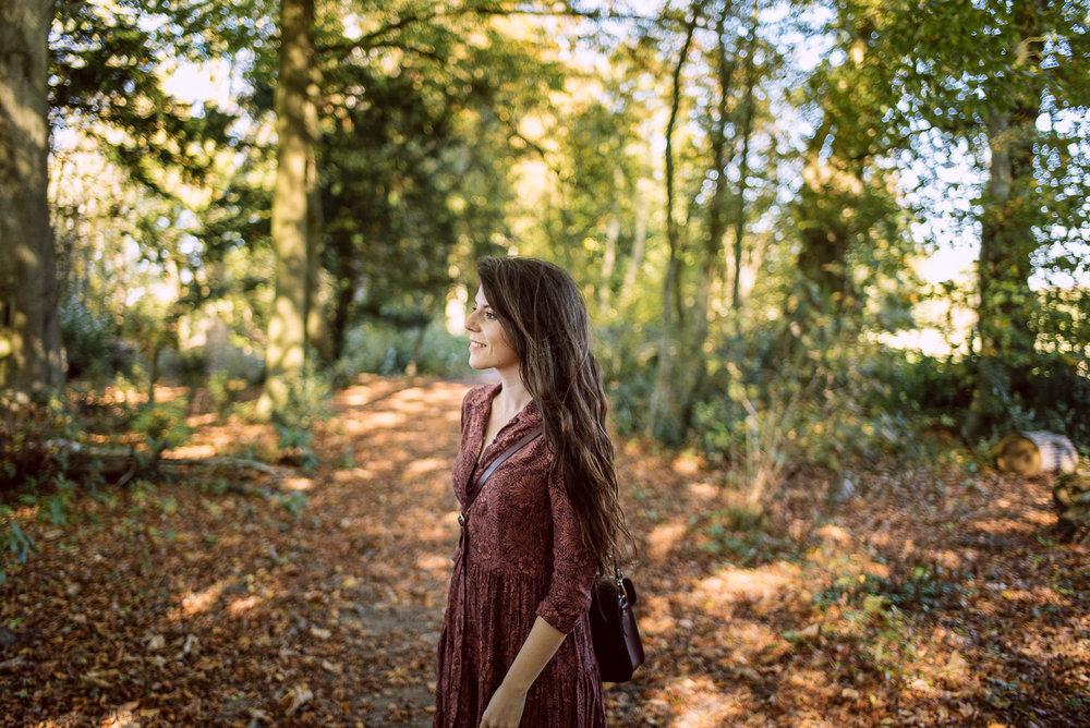 Fifi McGee Autumn Photoshoot